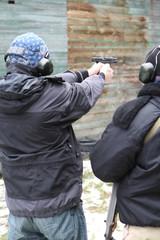 Poster Xian Target practice (pistol)