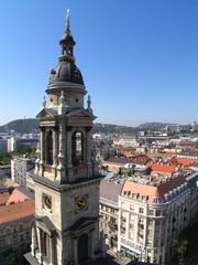 Budapest depuis la basilique St Etienne