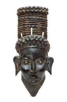 Black african mask