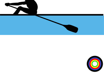 Olympics Rowing Single