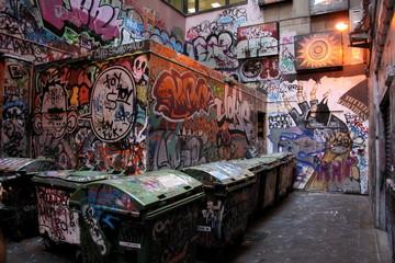 Graffiti of Melbourne Lanes 2