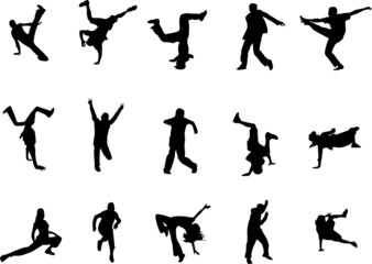 Hip Hop Dance Silhouette Photos Royalty Free Images Graphics Vectors Videos Adobe Stock