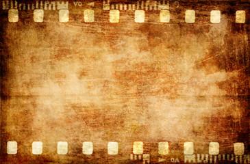old grunge filmstrip background