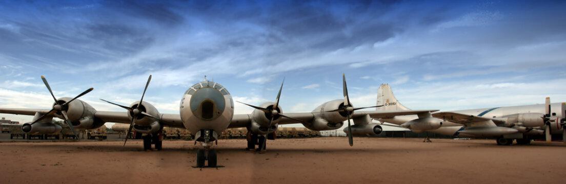 Boing B-29 Superfortress (large panorama)