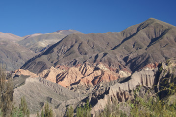 nice colors in the andes mountains of argentina