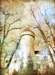 castle from fairy tale