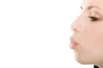 Female kiss