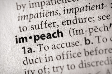 """impeach"". Many more word photos for you in my portfolio...."