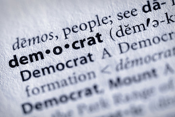 """democrat"". Many more word photos for you in my portfolio...."