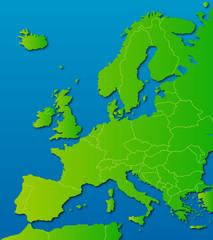 europa-karte länder