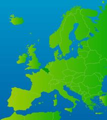 europa-karte belgien