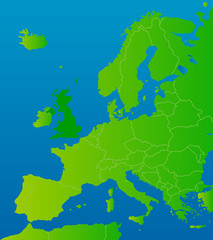 europa-karte grossbritannien