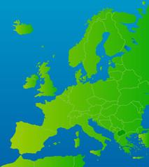 europa-karte mazedonien