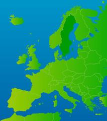 europa-karte schweden