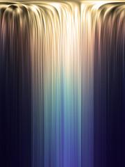 Cachoeira de cores