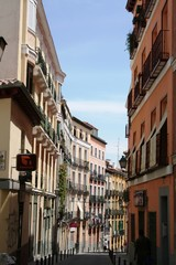 Rue à Madrid