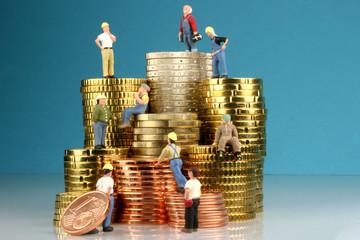 Symbolbild Arbeitskosten