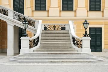 wide royal stairway