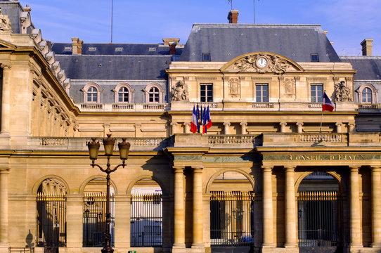 France, Paris, palais Royal:  Conseil d etat