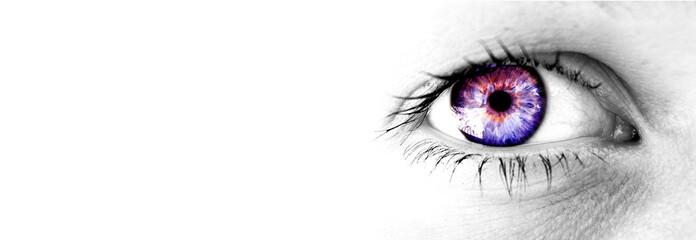 Wall Murals Iris eye