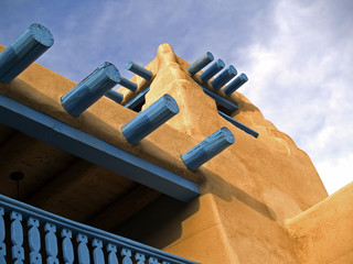 Southwestern architectural detail