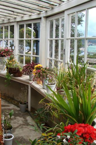 Véranda et jardin d\'hiver\