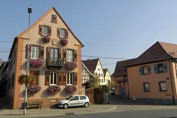 village de marlenheim en alsace