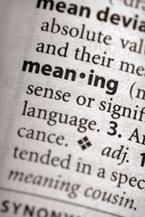 """meaning"". Many more word photos in my portfolio...."