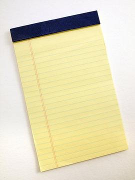 Yellow Legal pad 2