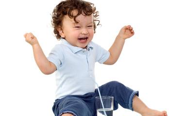 Happy child.