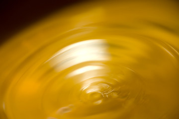 yellow waves, soft focus, abstract background, macro