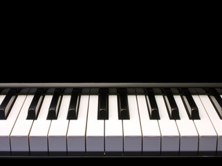 piano - low perspective - one octave