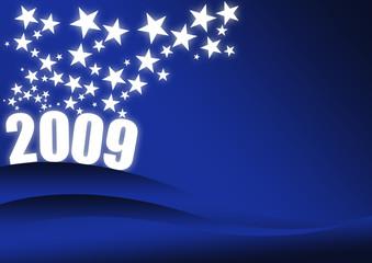 sfondo blu 2009