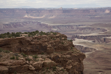 Buck Canyon Overlook - Canyonlands NP