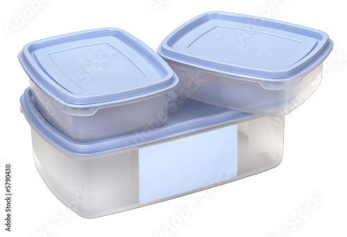 boites plastiques pour la conservation des aliments photo libre de droits sur la banque d. Black Bedroom Furniture Sets. Home Design Ideas