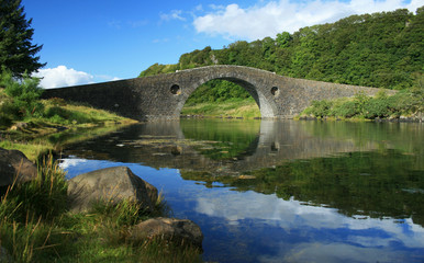Clachan Bridge, Scotland, UK