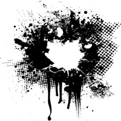 halftone ink hole