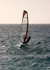 Windsurfer in Cape Verde