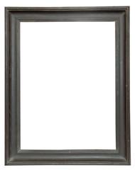 Dark wooden frame