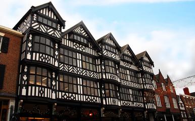 Fototapeta A Tudor style building in Chester, England obraz