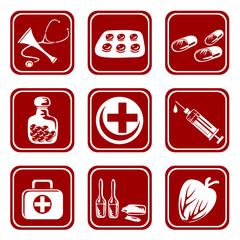 nine medical symbols