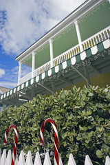 Christmass time in Key West - Florida, USA.