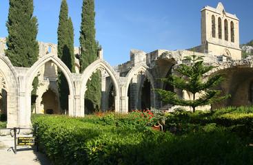 Fotobehang Cyprus Bellapais abbey, Cyprus