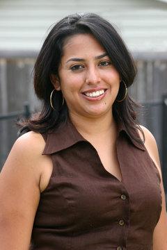 Classy Young Hispanic Woman