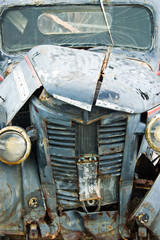 Unloved Old Pickup Truck