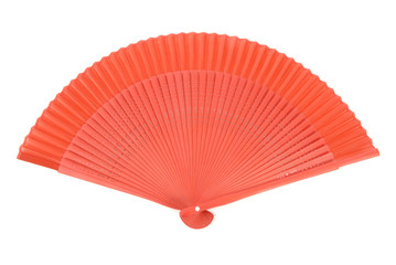 Red Chinese Fan