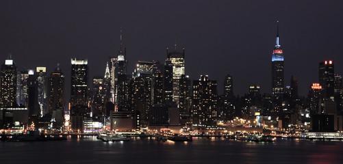 Blue New York Night