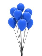 blaue luftballons