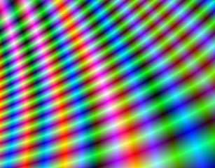 Colorful lines fractal background.