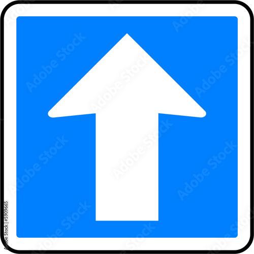 panneau sens unique photo libre de droits sur la banque d 39 images image 5909665. Black Bedroom Furniture Sets. Home Design Ideas